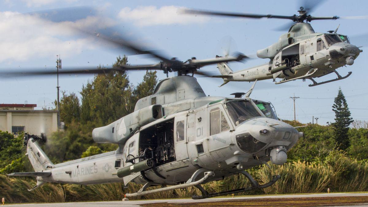 UH-1Y (fot. US Marine Corps / MCIPAC Combat Camera LCpl. Jesus McCloud)