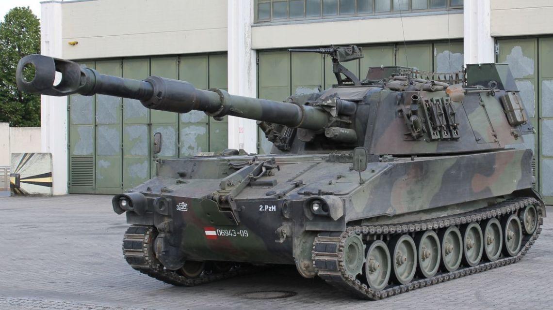 Łotewskie M109A5 w komplecie
