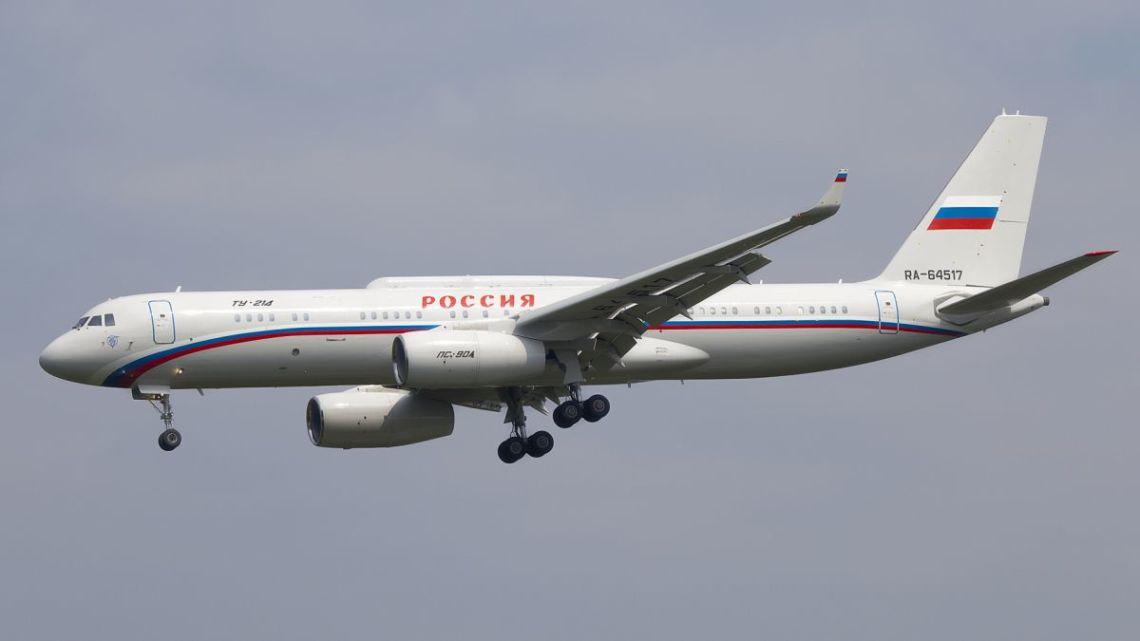 Pierwszy lot Tu-214PU-SBUS | Konflikty.pl