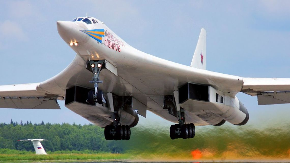 Tu-160 nad Bałtykiem