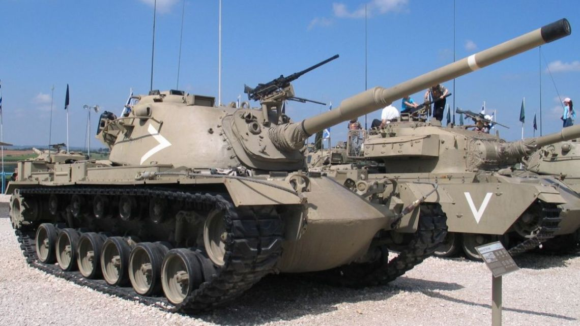 Rydwany Cahalu. Izraelski Patton: Magach | Konflikty.pl