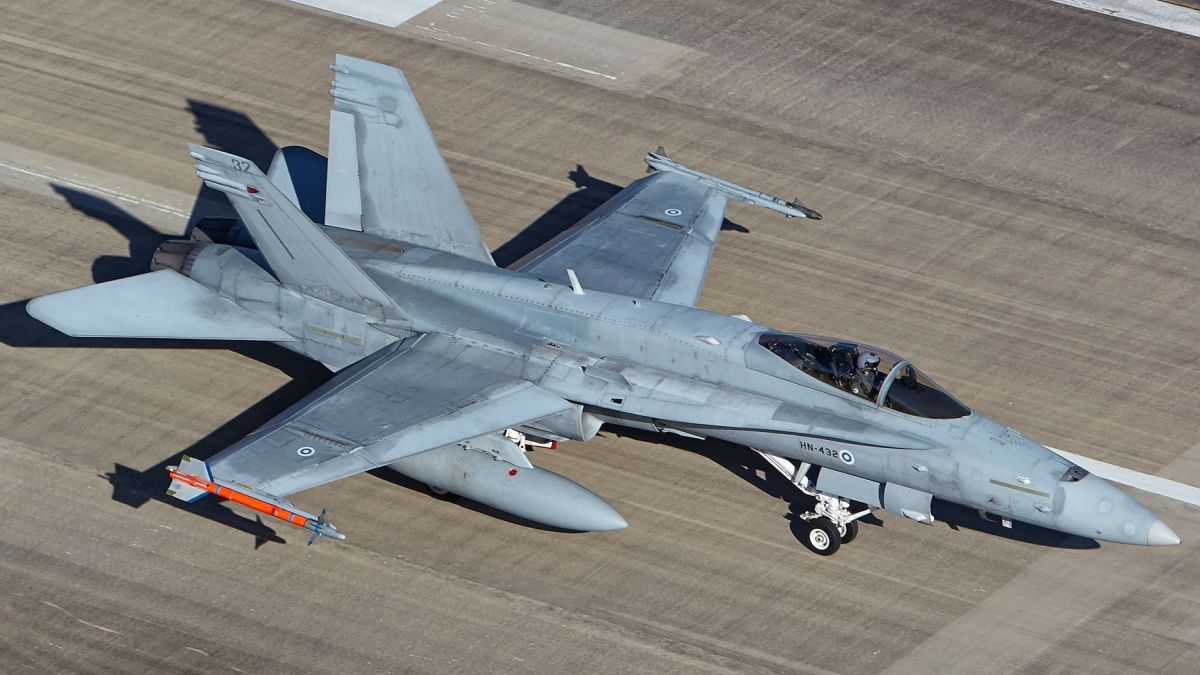 Fiński Hornet (fot. Allied Joint Force Command Brunssum, Creative Commons Attribution-Share Alike 2.0 Generic)