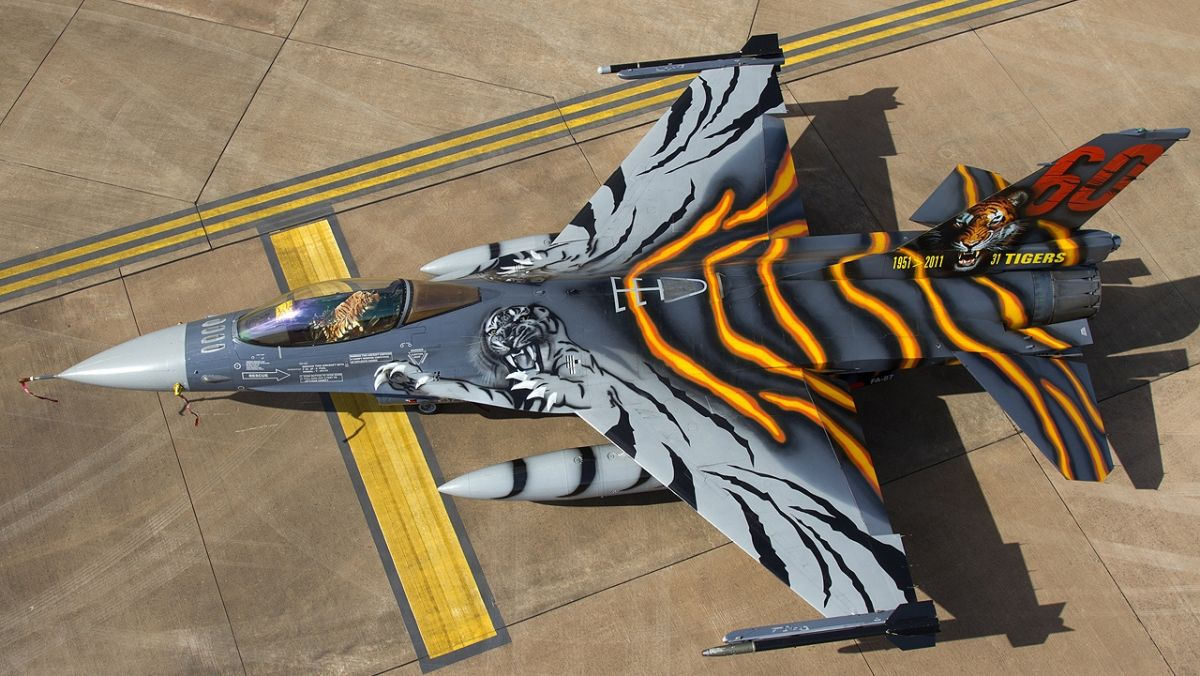 F-16AM belgijskiego Luchtcomponentu (fot. Chris Lofting, GNU Free Documentation License, Version 1.2)