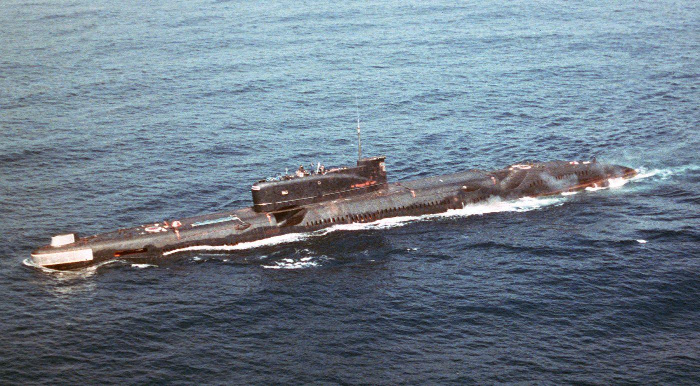Okręt projektu 651 sfotografowany w 1988 roku (fot. US Navy)
