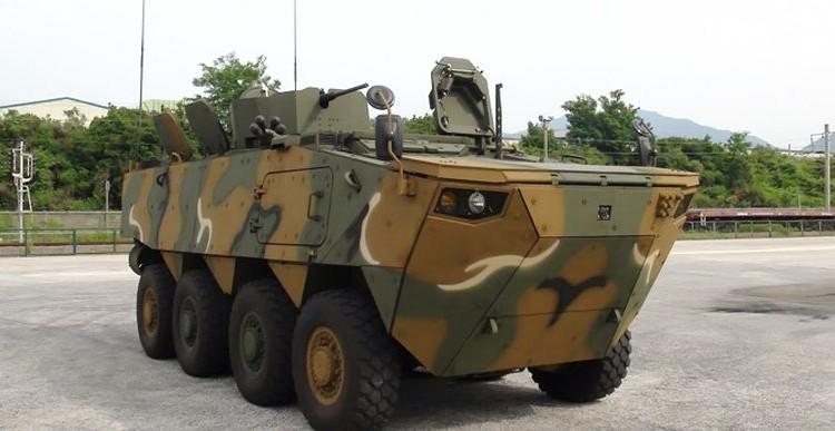600 pojazdów opancerzonych K806 i K808 dla Korei Południowej | Konflikty.pl