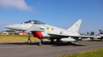 eurofighter typhoon raf 22