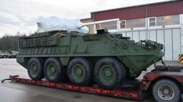 Pierwszy Stryker Dragoon w Europie | Konflikty.pl