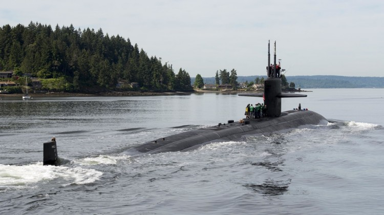 USS Dallas (SSN 700) Arrives in Bremerton for Inactivation