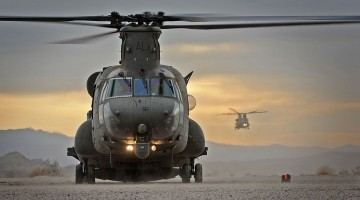 RAF Chinook Helicopters