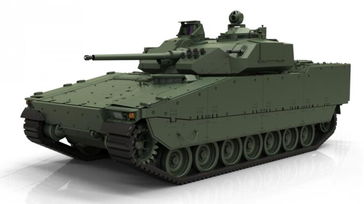 BAE Systems prezentuje bwp CV90 Mk IV | Konflikty.pl