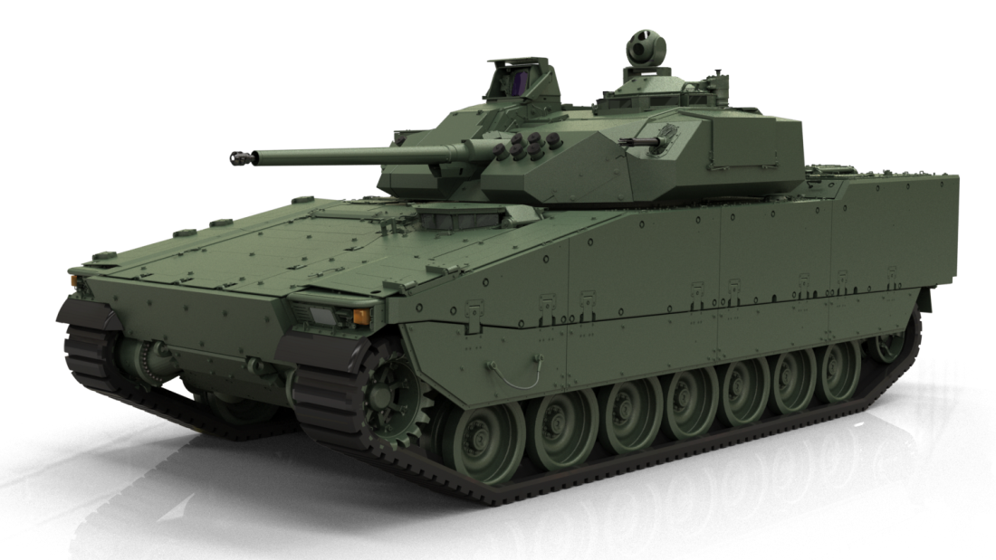 BAE Systems prezentuje bwp CV90 Mk IV   Konflikty.pl