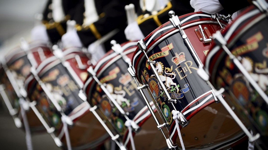 Drums of the Royal Marines Band Service