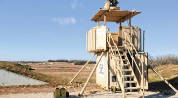 Fort Leonard Wood Guard Tower Test