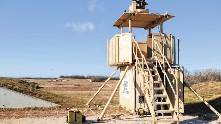 Fort Leonard Wood Guard Tower Test