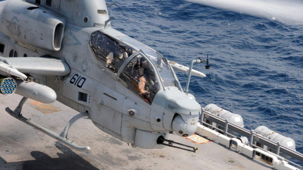Próby pocisku JAGM AH-1Z | Konflikty.pl