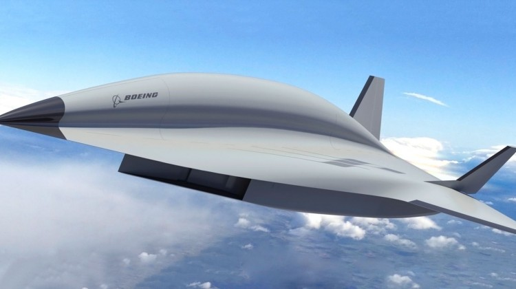 """Syn Blackbirda"", następca SR-71 Blackbird, od Boeinga | Konflikty.pl"