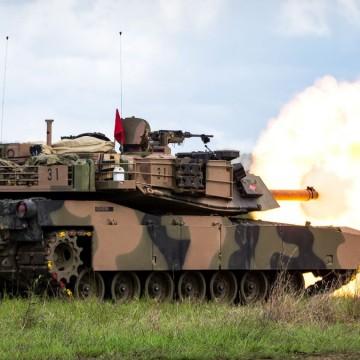 M1A1 Abrams Australia Exercise Diamond Run 2017