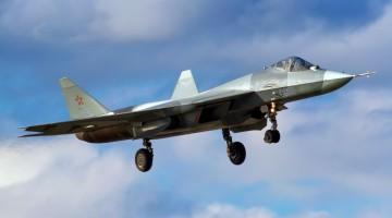 Rosyjskie myśliwce Su-57 w Syrii | Konflikty.pl