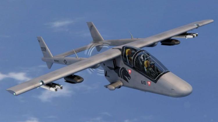 Bronco II – AHRLAC na rynek amerykański   Konflikty.pl
