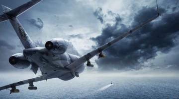 Swordfish MPA chasing a Submarine