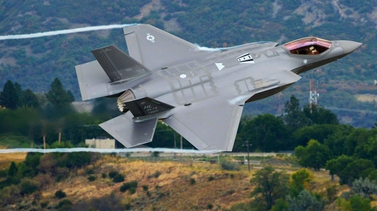 First F-35A local training sortie