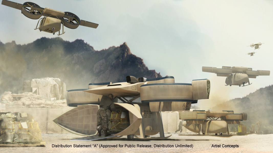 USMC chce zamówić duże bezzałogowce VTOL MUX | Konflikty.pl
