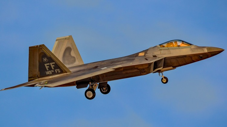 F-22A 149th FS Virginia ANG