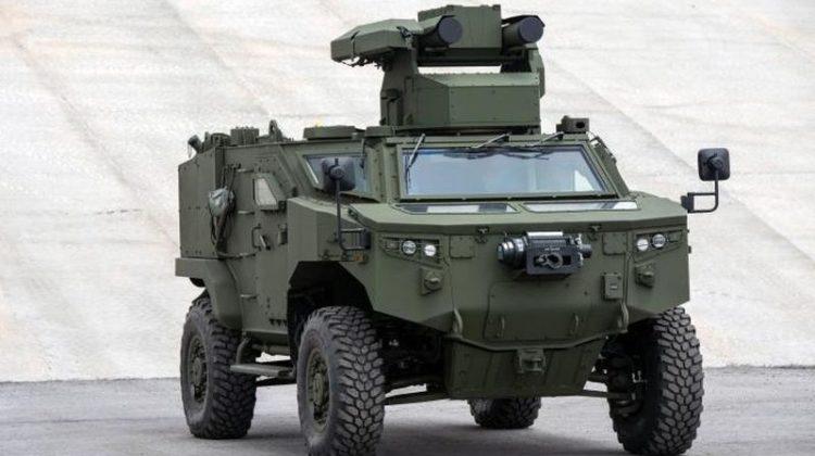 Turecki niszczyciel czołgów odbył pierwszy cykl prób