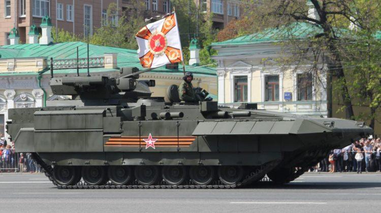 Zintegrowano bwp T-15 z armatą kalibru 57 milimetrów   Konflikty.pl