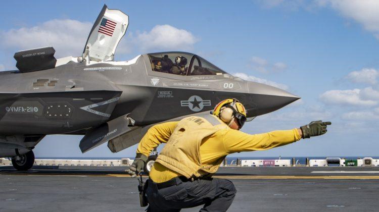 Chrzest bojowy F-35B