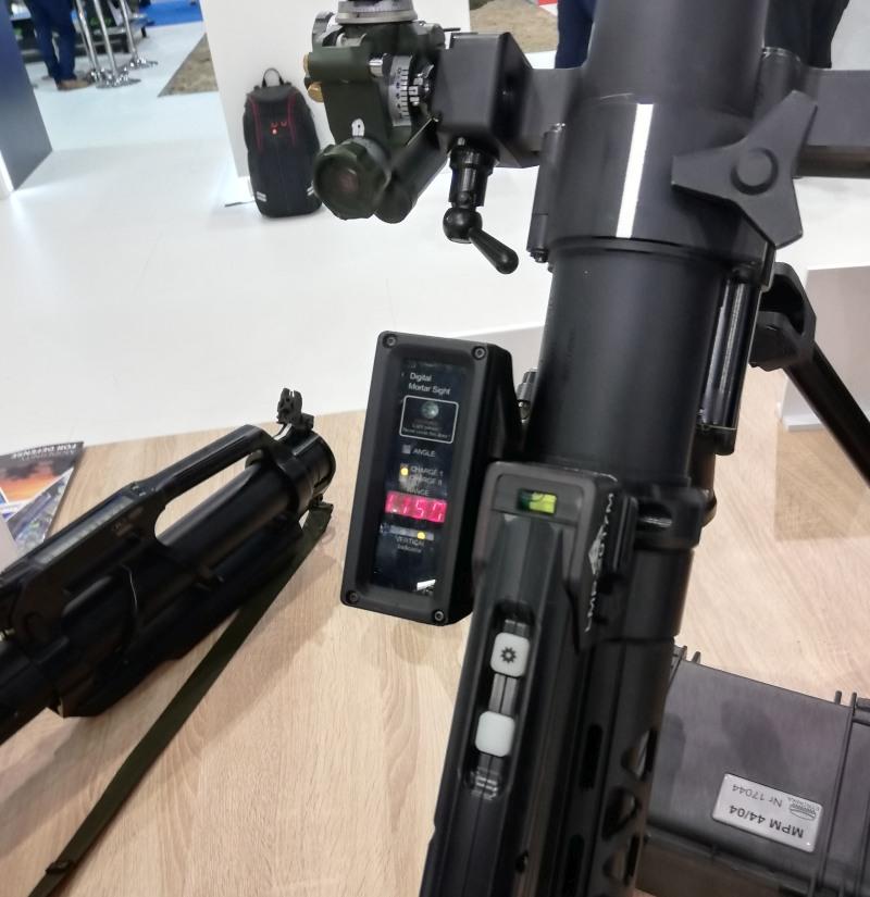 Celowniki moździerza LMP-2017M