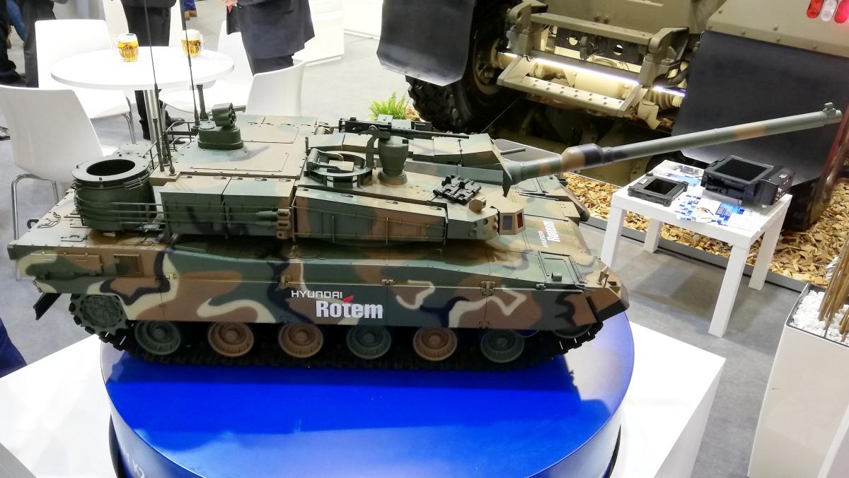 Model czołgu K2 PL Wilk