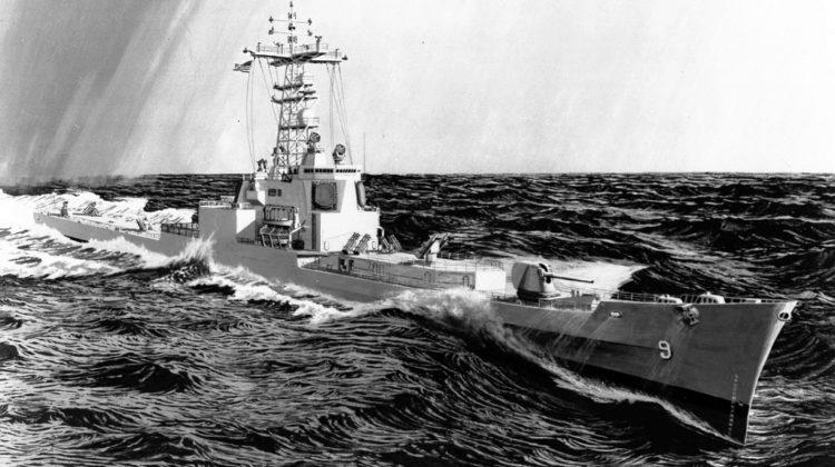US Navy następcy krążowników