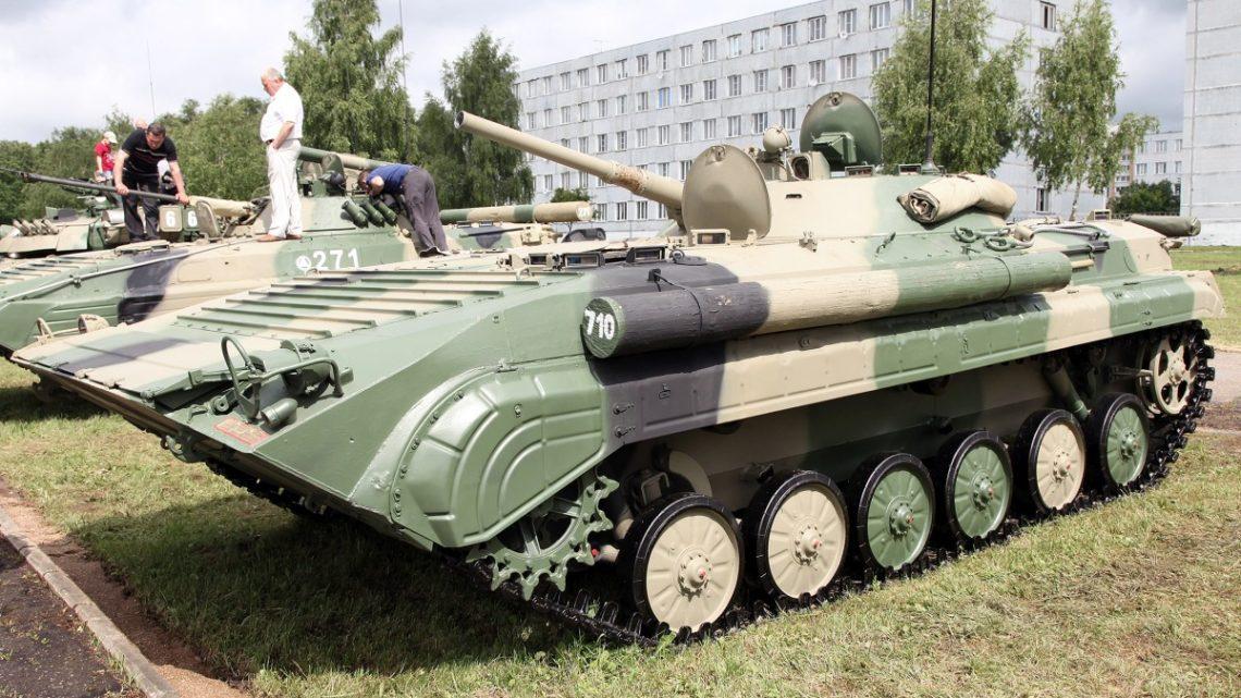 Ukraińcy zaprezentowali bwp BMP-M1S