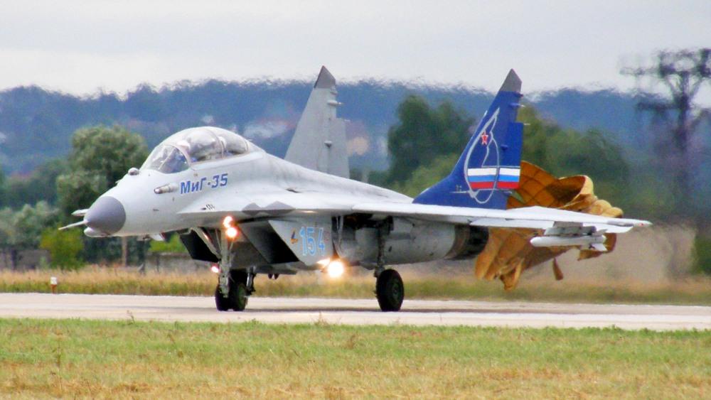 MiG-35 próby w locie 2019