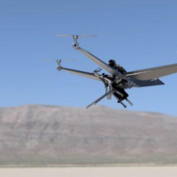 Firma z Utah przetestuje mały załogowy quadrocopter