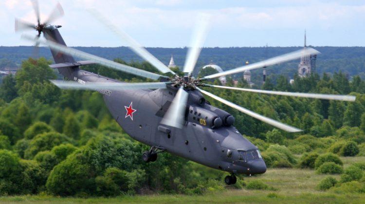 Mi-26 przenosi Su-27 i Su-24