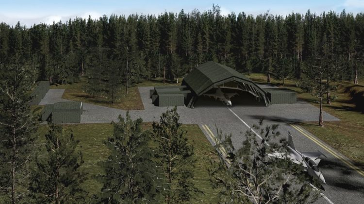 Deployable Aircraft Maintenance Facility