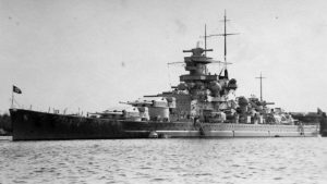 Scharnhorst, Gneisenau i Prinz Eugen na kanale La Manche