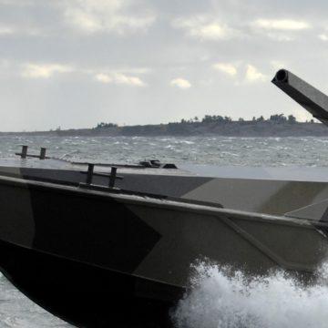 Testy modułu Patria Nemo Container na platformie morskiej