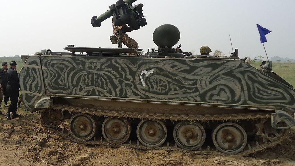 IDEAS: Ujawniono pakistański bwp Viper