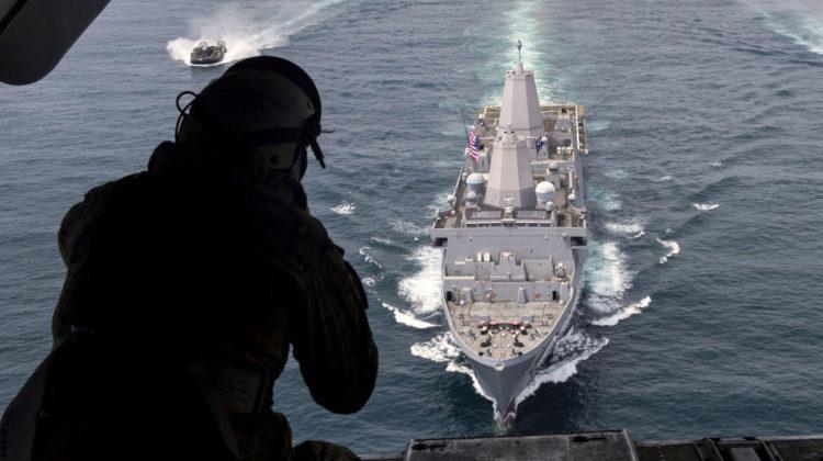 "US Navy przetestowała ""Littoral Combat Group"""