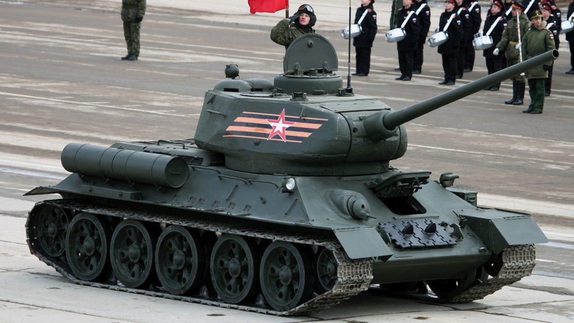 Rosja T-34 Laos