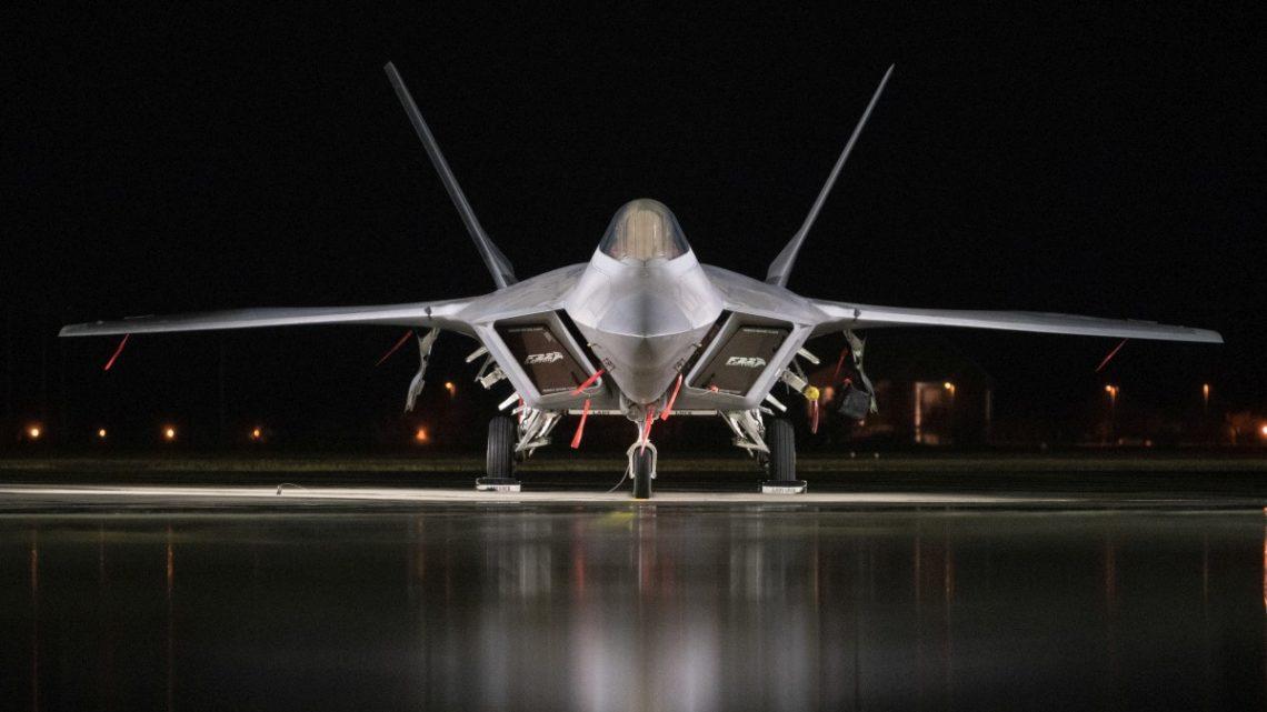 F-22 Langley Eustis