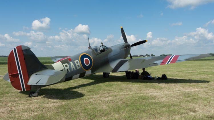 Norweski Spitfire wróci w powietrze