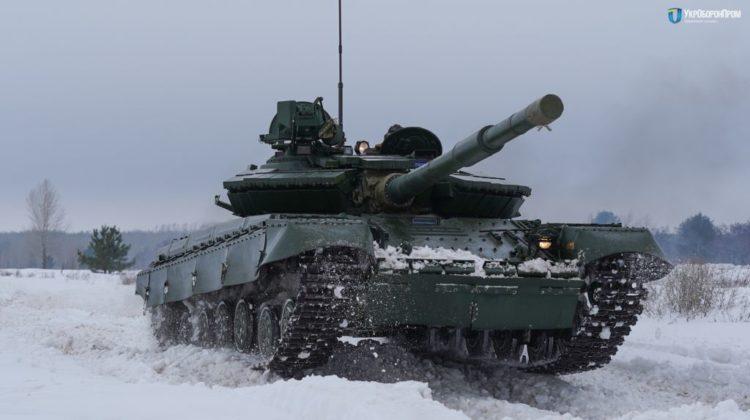 Ukraińcy odebrali 100 czołgów T-64BW wzór 2017