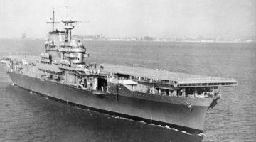 Odnaleziono wrak lotniskowca USS Hornet