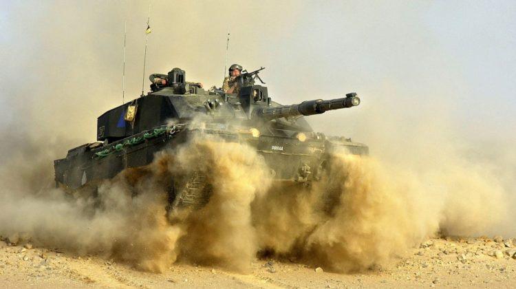 Brytyjscy pancerniacy Khanjar Oman 19
