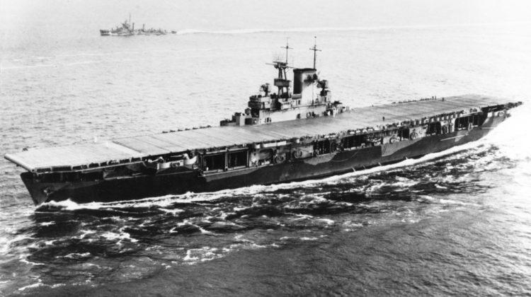 Odnaleziono wrak lotniskowca USS Wasp