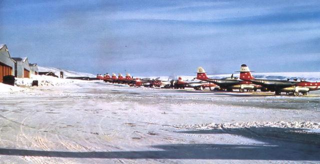 myśliwce na Grenlandii